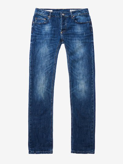 STONE WASHED 5-POCKET DENIM