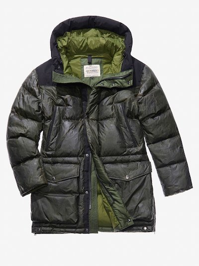 ULTRA WARM DOWN MILITARY COAT