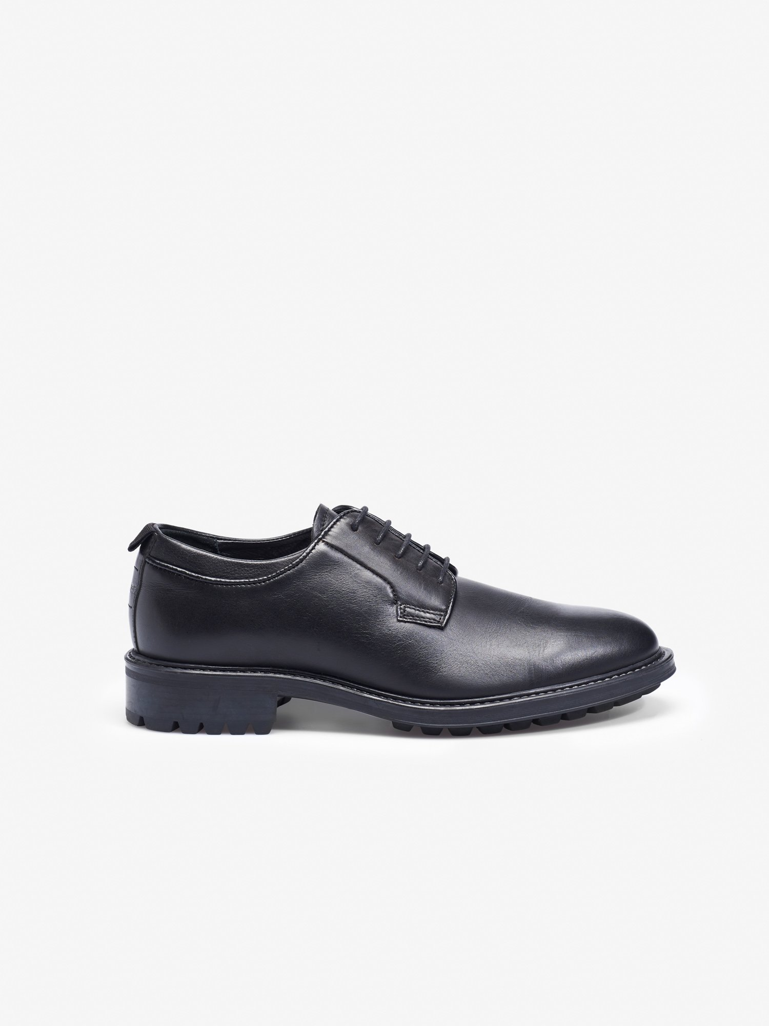 LACE UP DERBY  SHOES - Blauer