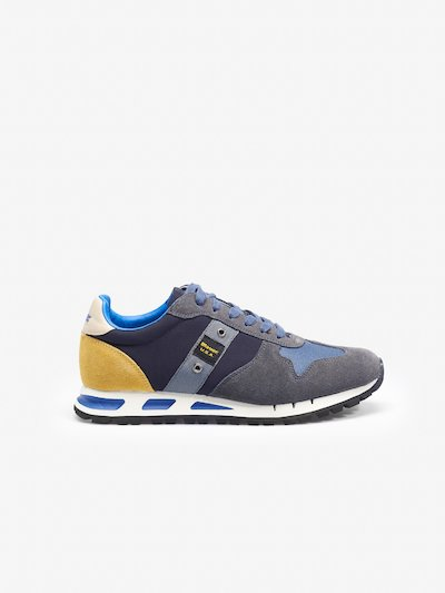 MUSTANG SUEDE TRAINERS