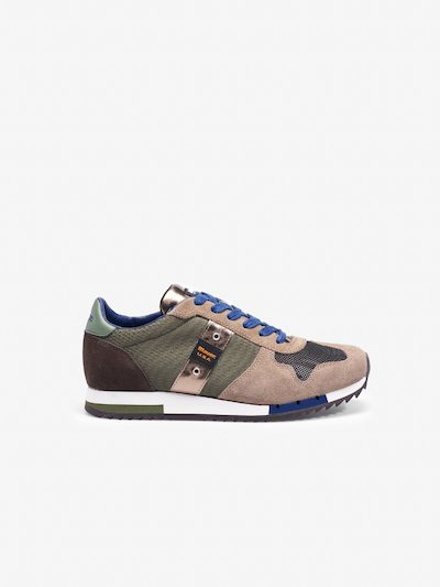 QUINCY CAMOUFLAGE SNEAKER LOW
