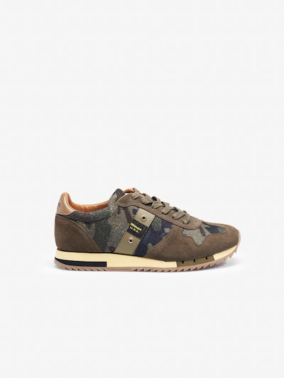 QUINCY MILITARY SNEAKER LOW