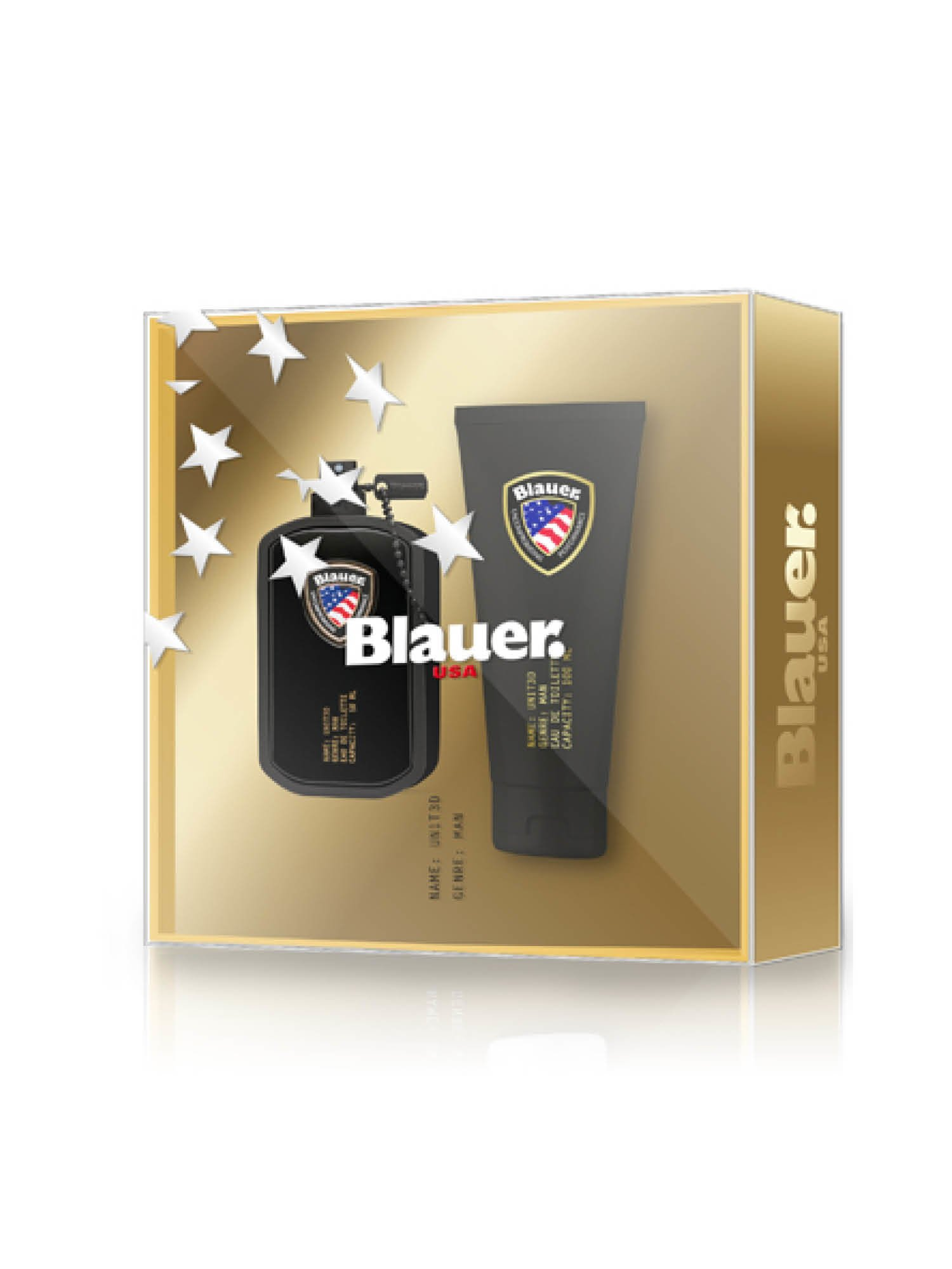 Blauer - BLAUER UN1T3D COFFRET FOR MAN - золотой - Blauer