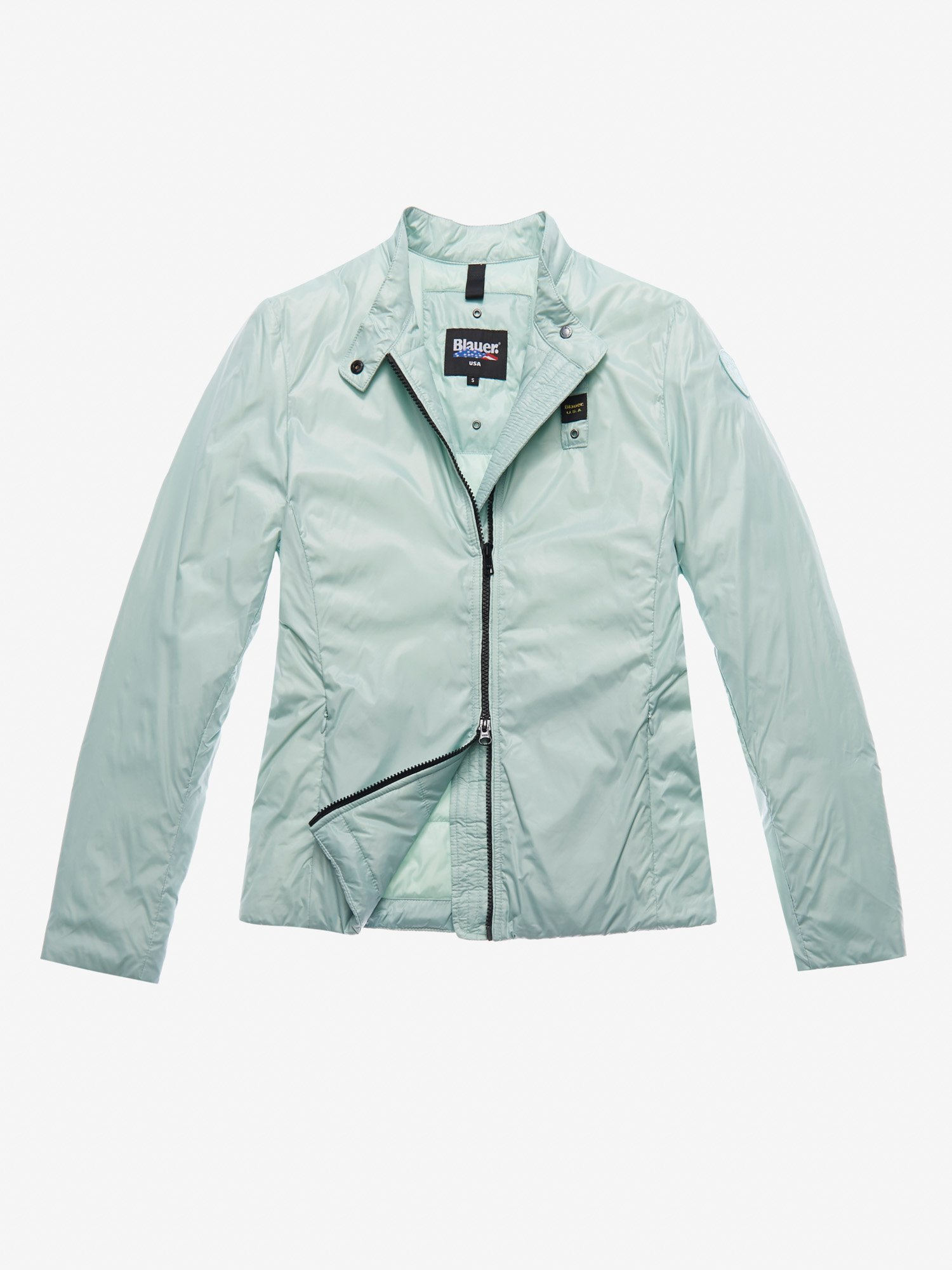 Blauer - DOUDOUNE REMBOURRAGE ECO EVANS - Light Blue - Blauer