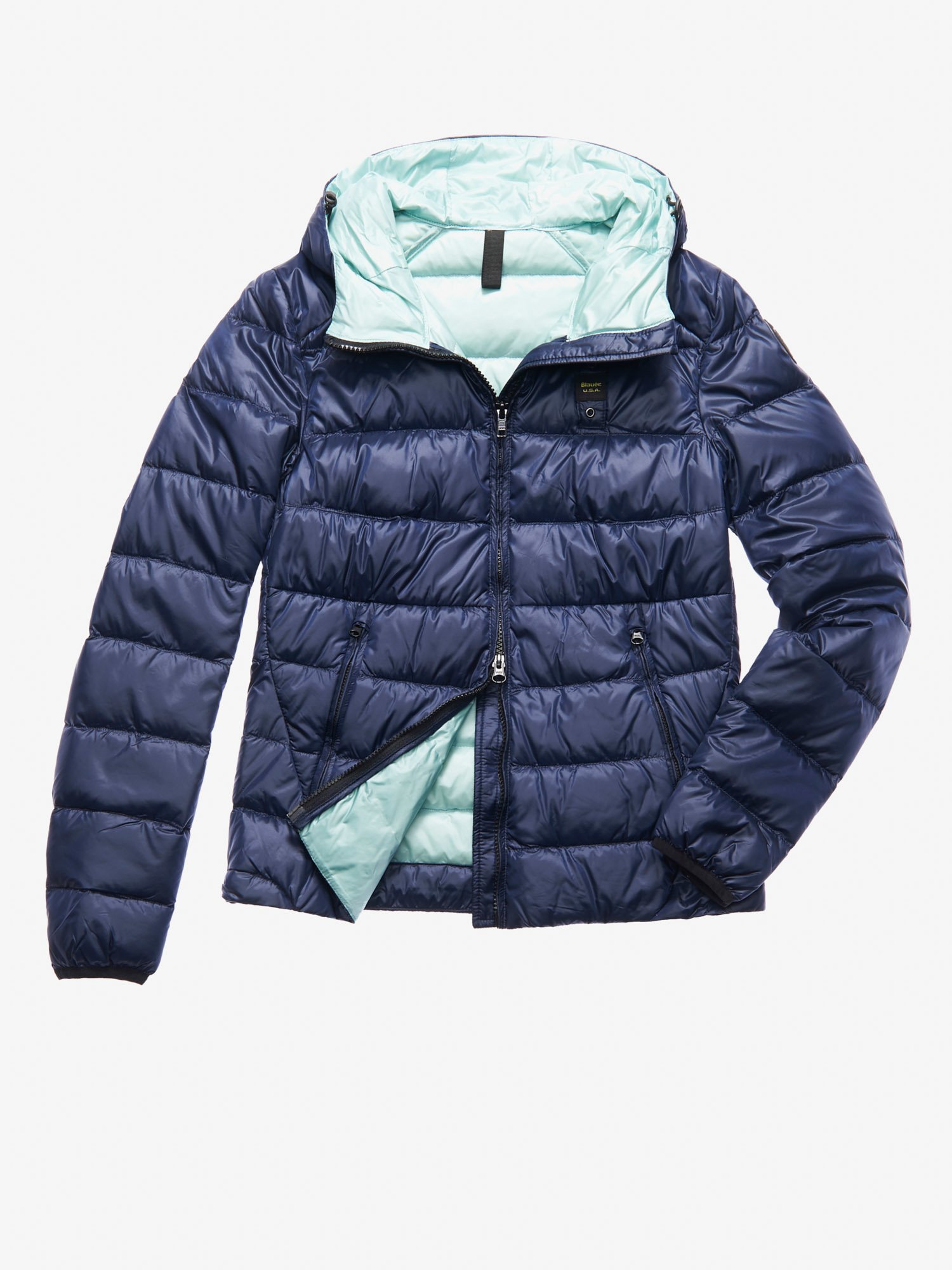 KELLY HOODED DOWN JACKET - Blauer