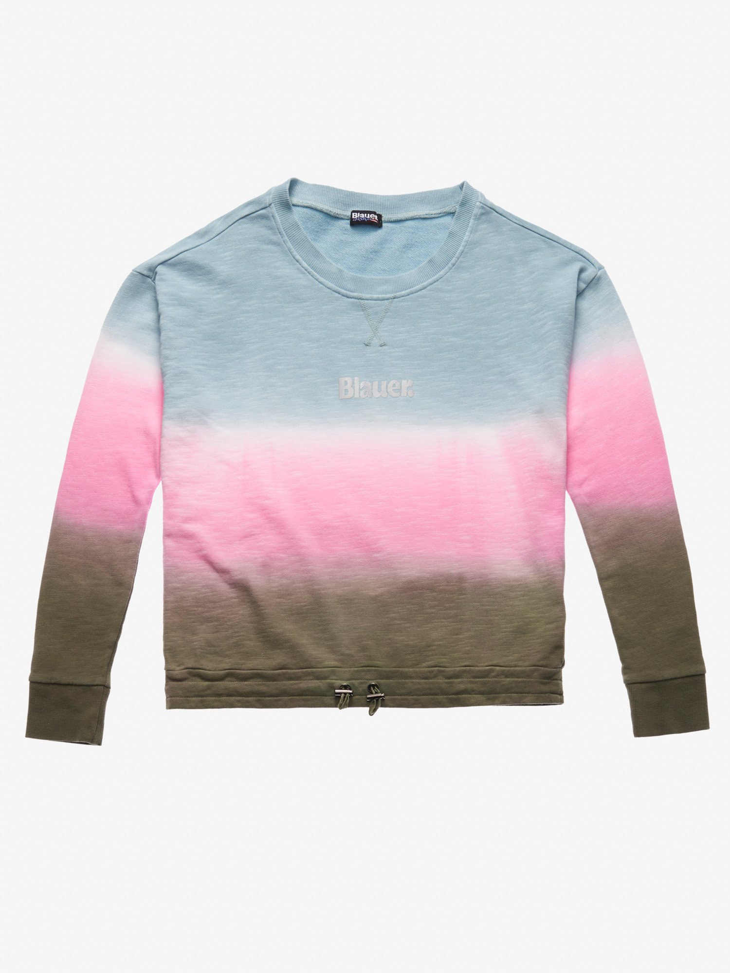 SHADED CREW NECK SWEATSHIRT - Blauer