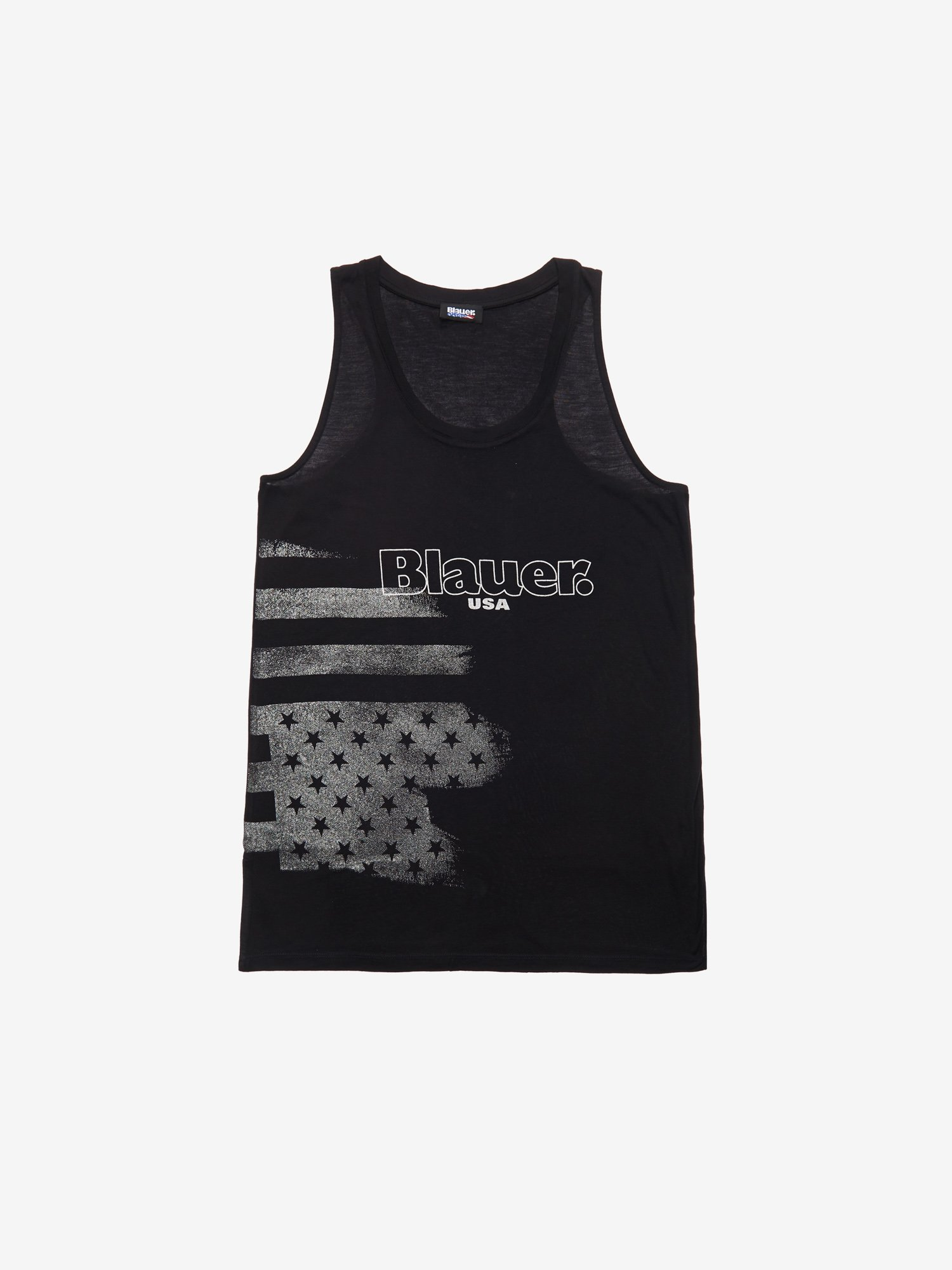 FLAG PRINT TANK TOP - Blauer