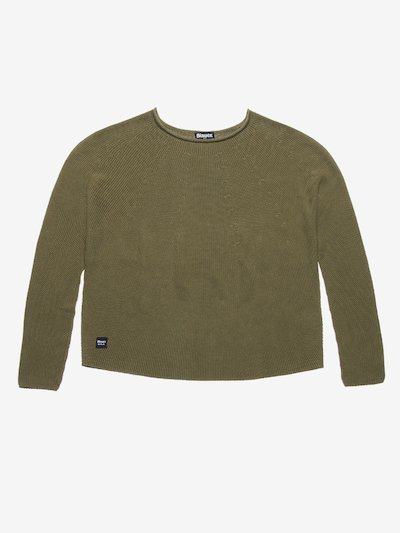 SHORT CREW NECK SWEATER
