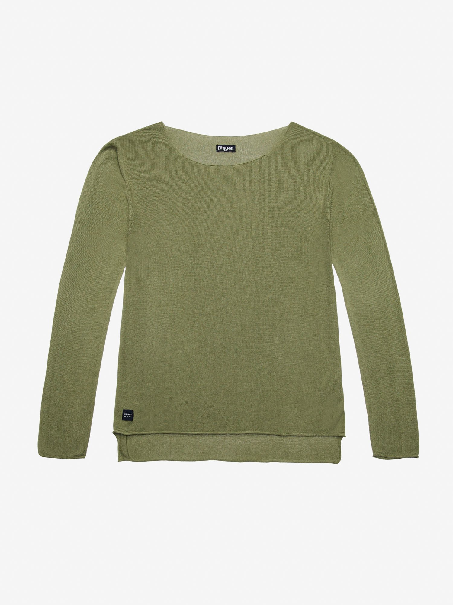 WOMEN'S WIDE NECKLINE SWEATER - Blauer