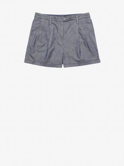 WOMEN'S STRETCH COTTON LINEN SHORTS