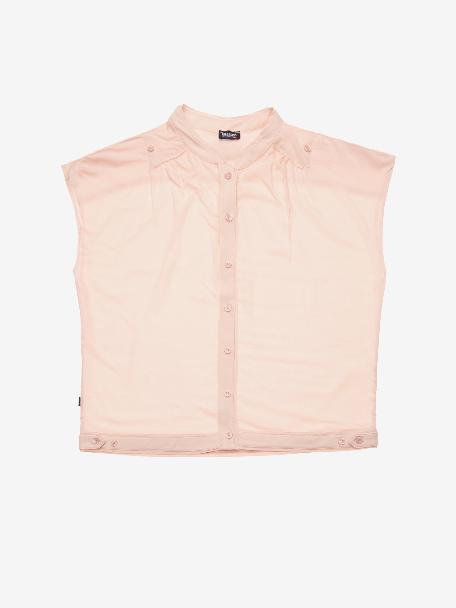 Blauer - SLEEVELESS SHIRT - Cameo Rose - Blauer