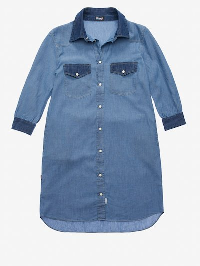 ROBE CHAMBRAY ET DENIM