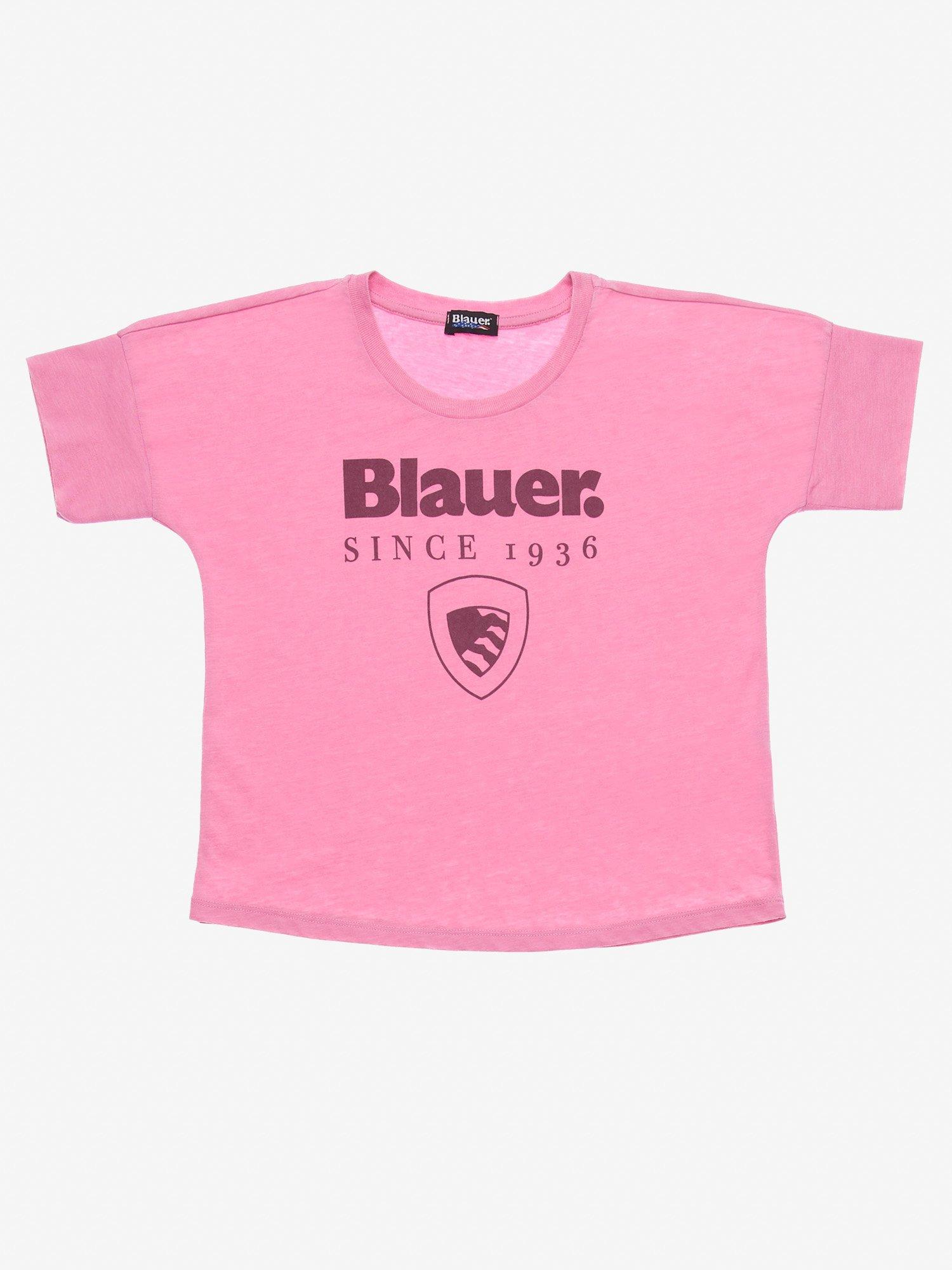 Blauer - JUNIOR DANCE T-SHIRT - Pastel Lavander - Blauer