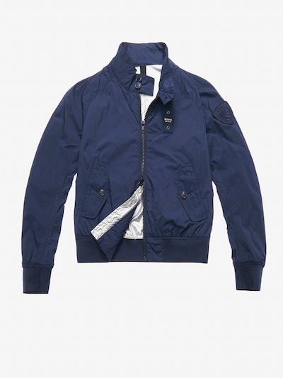 MORGAN NYLON BOMBER-STYLE JACKET