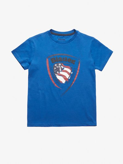 T-SHIRT JUNIOR SCUDO BLAUER