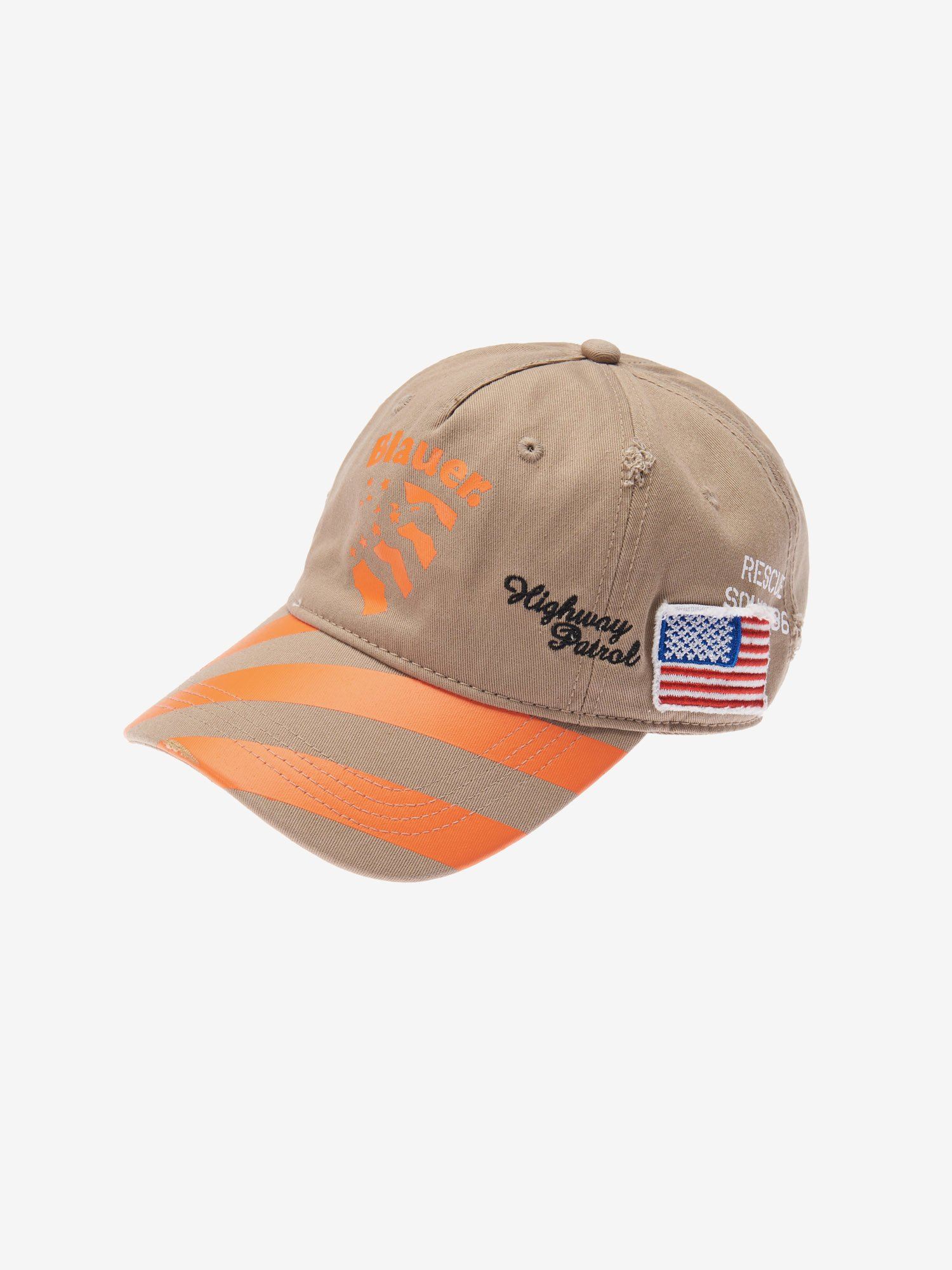 BASEBALL CAP WITH PATCHES - Blauer