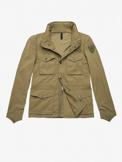 FIELD JACKET IN COTONE MARTIN
