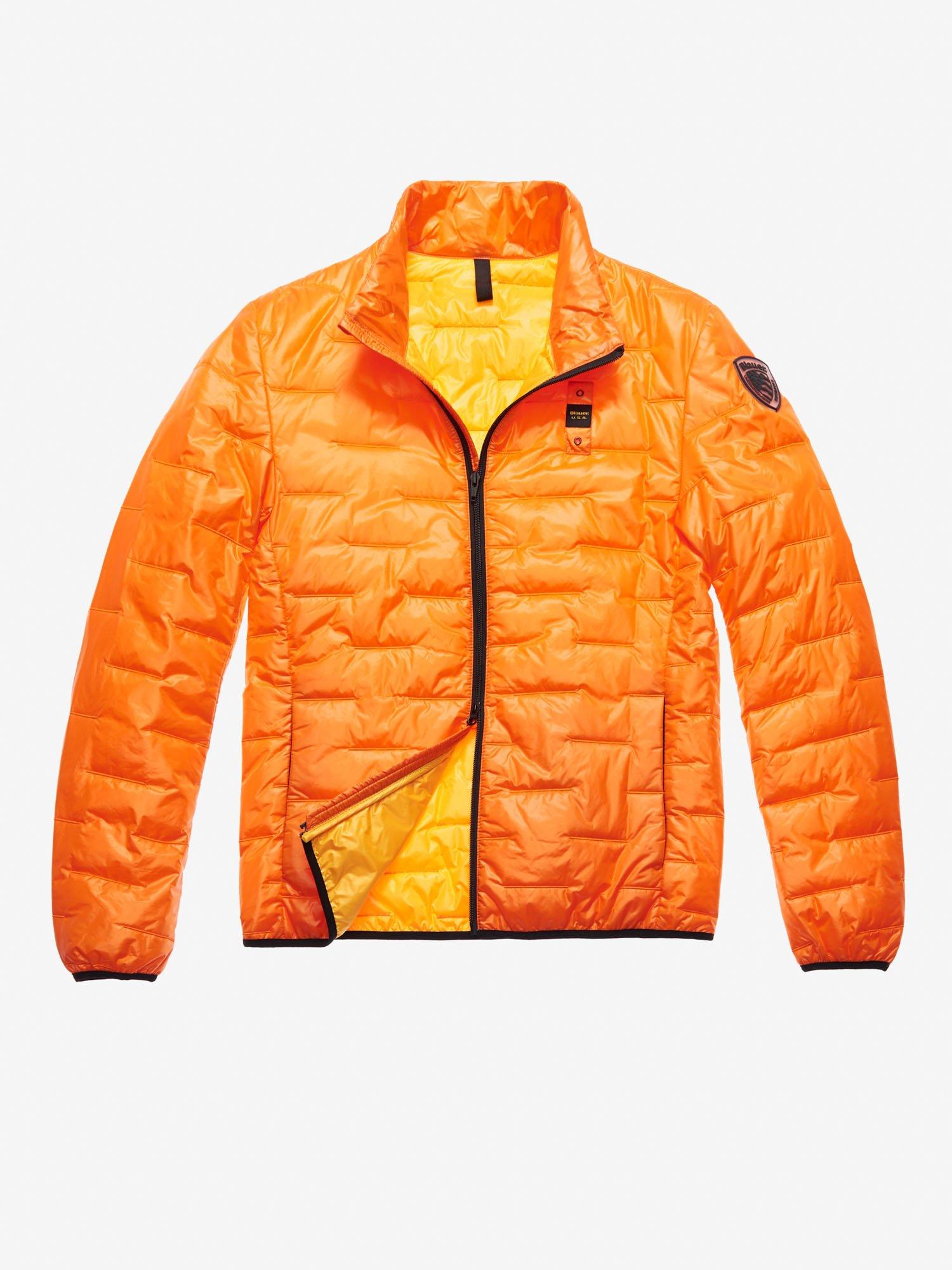 Blauer - HERNANDEZ 100 GR PADDED JACKET - Orange Carrot - Blauer