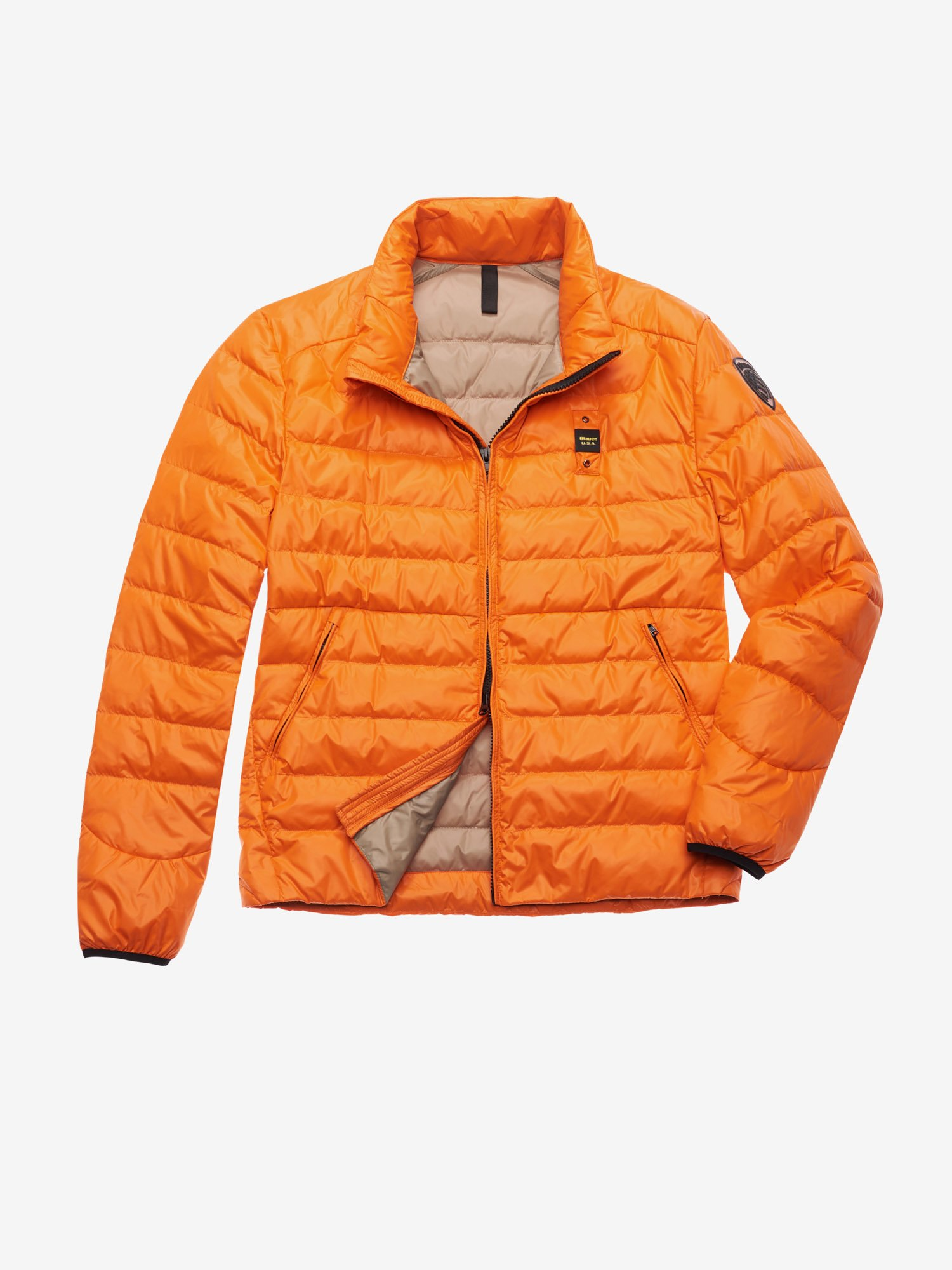 bacd5271a88 Blauer - YOUNG 100 GR DOWN JACKET - Orange Ins. light Nut - 1 ...