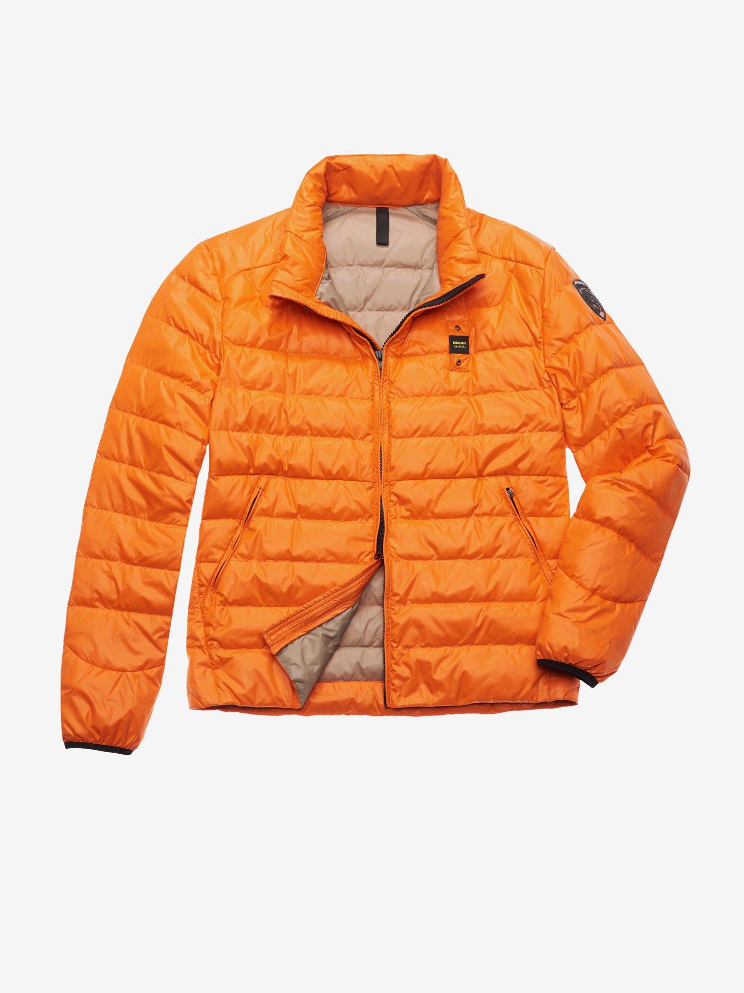 Blauer - YOUNG 100 GR DOWN JACKET - Orange Ins. light Nut - Blauer