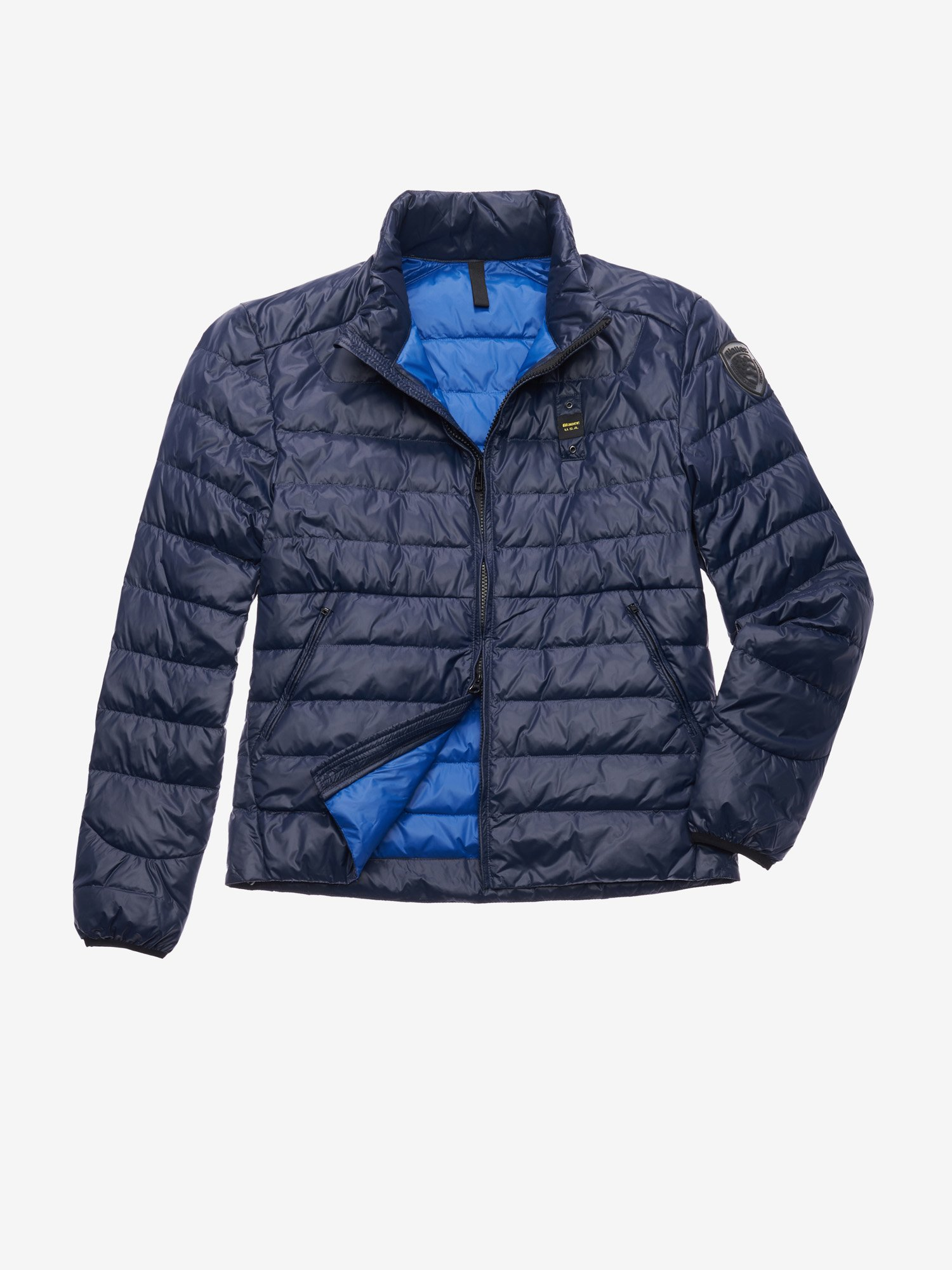 Blauer - YOUNG 100 GR DOWN JACKET - Blue Inside Blu Oltremare - Blauer
