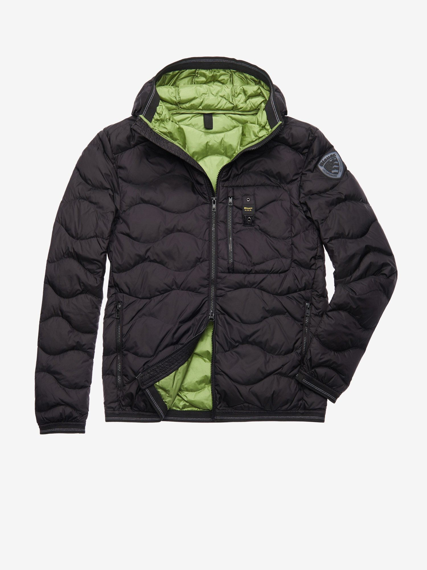 KING WAVE-QUILTED DOWN JACKET - Blauer