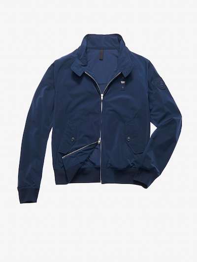 GONZALEZ STRETCH BOMBER-STYLE JACKET