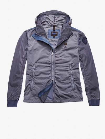 NELSON NYLON COTTON JACKET