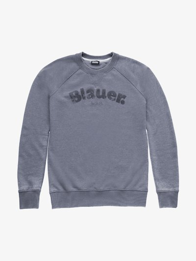 BURNOUT-RUNDHALS-SWEATSHIRT