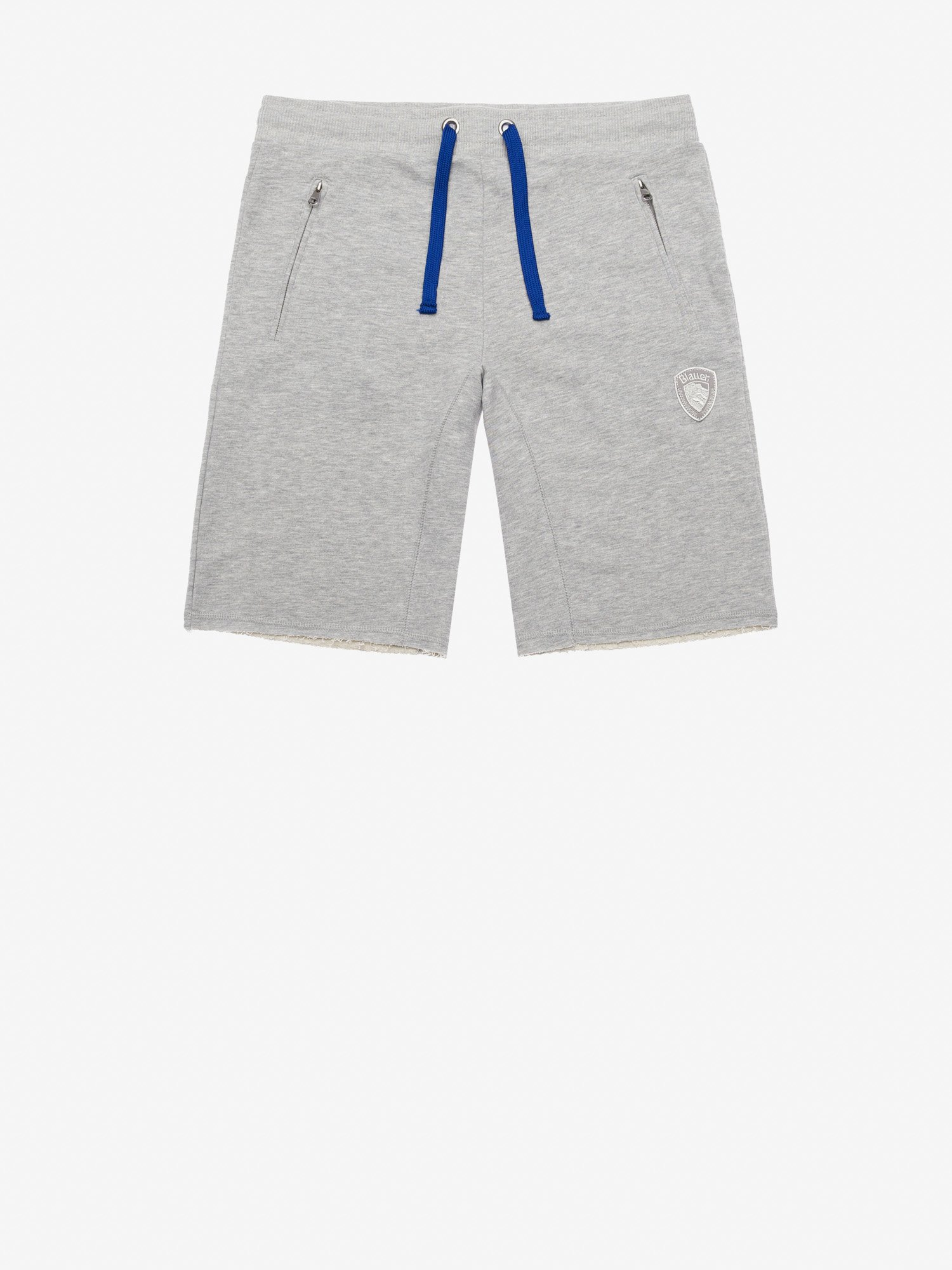 GARMENT DYED COTTON SHORTS - Blauer