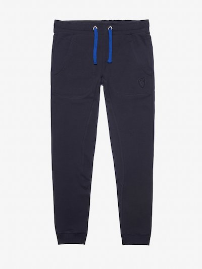 LONG COTTON-BLEND SWEATPANTS