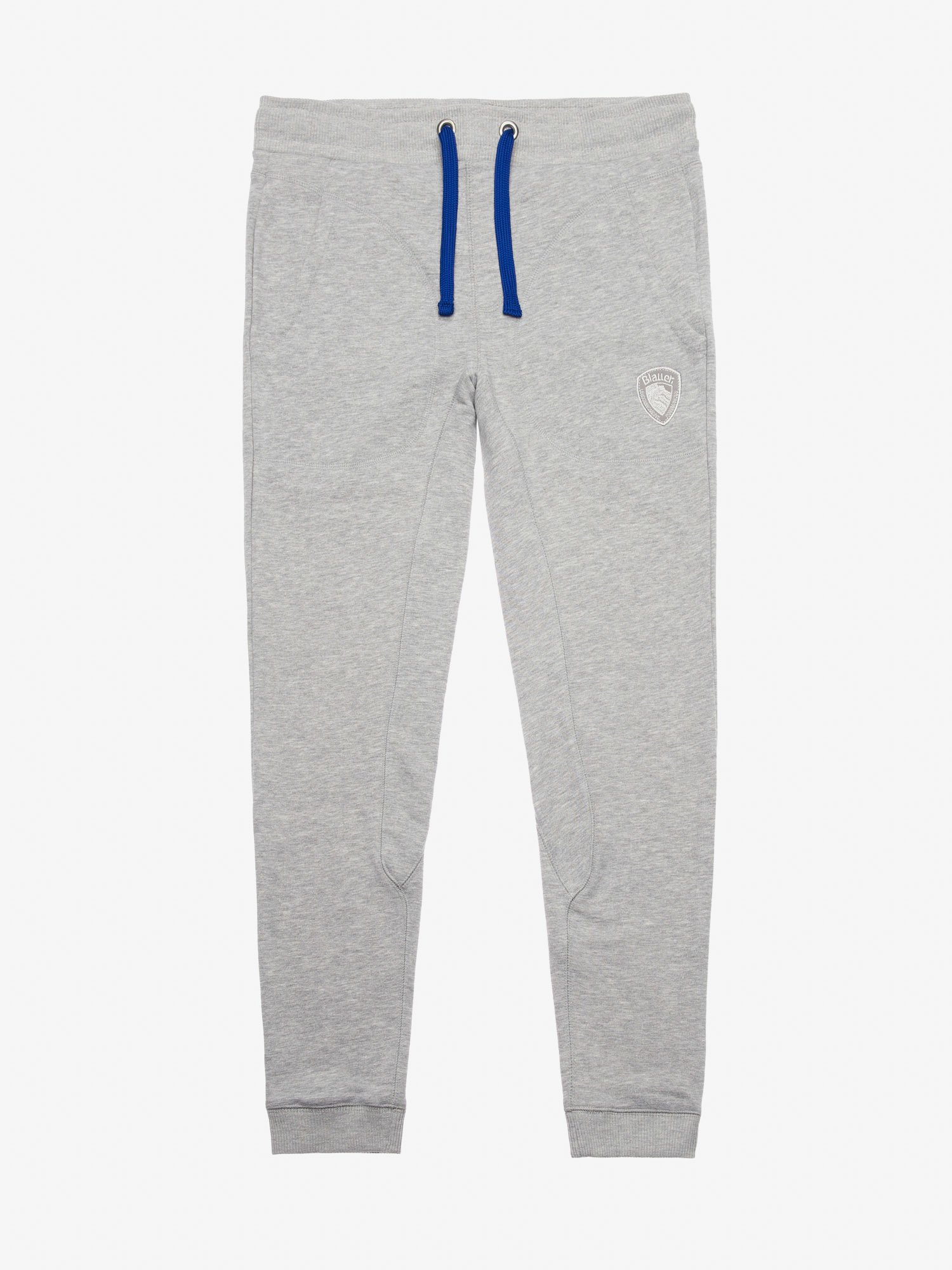 LONG COTTON-BLEND SWEATPANTS - Blauer