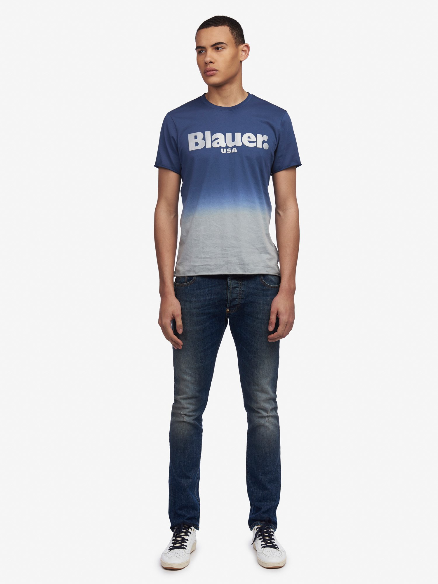 eda12f75dda5 T-shirt Uomo in stile Blauer ® - Acquista Online
