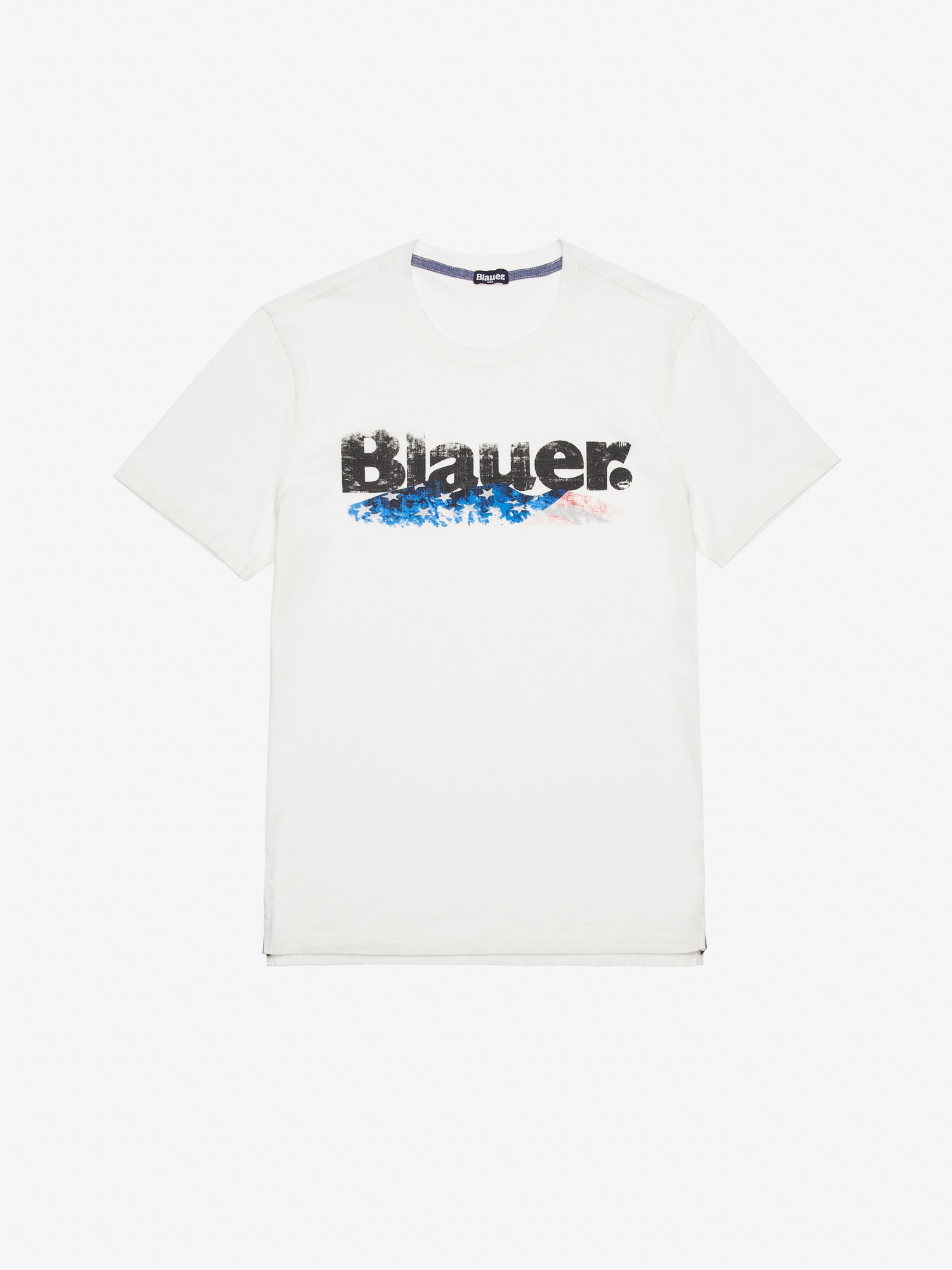 MEN'S GARMENT DYED JERSEY T-SHIRT - Blauer