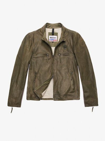 BLOUSON EN CUIR DIRTY JOHNSON