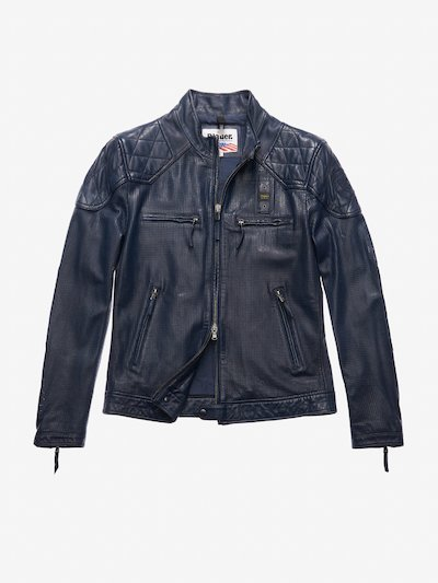 JONES PERFORATED LEATHER JACKET
