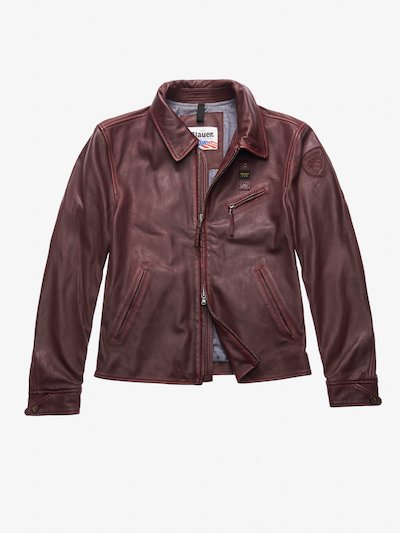 BROWN VINTAGE LEATHER JACKET