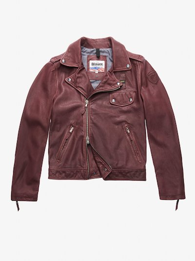 DAVIS RUGGED LEATHER JACKET