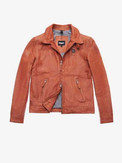 JACKSON GARMENT DYED LEATHER JACKET