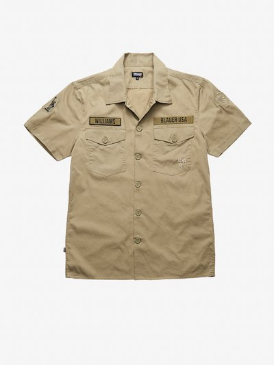 SHORT SLEEVE MILITARY SHIRT