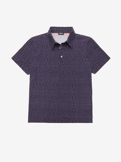 STAR-PRINT POLO SHIRT