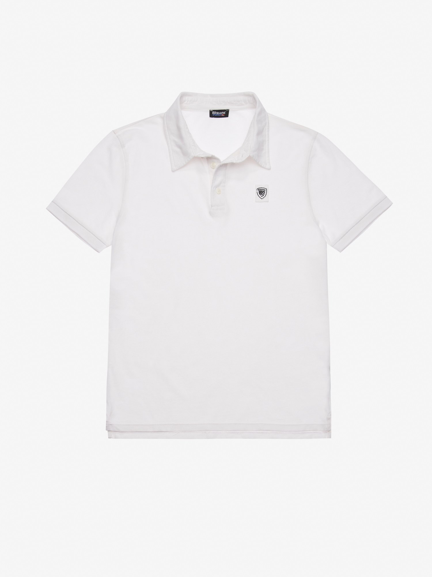 GARMENT DYED POLO SHIRT - Blauer