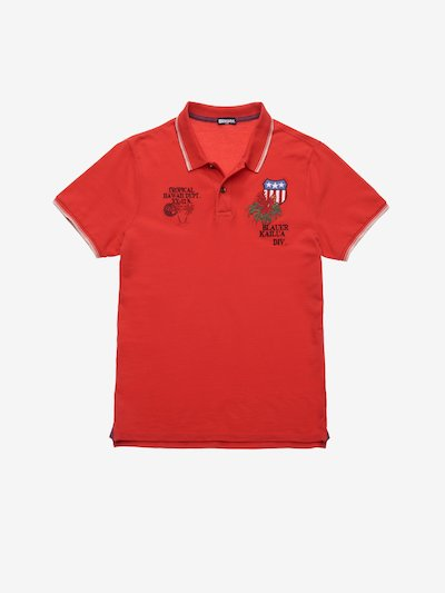 TROPICAL HAWAII POLO SHIRT