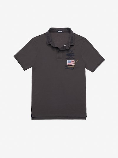 VINTAGE MOTORCYCLE POLO SHIRT