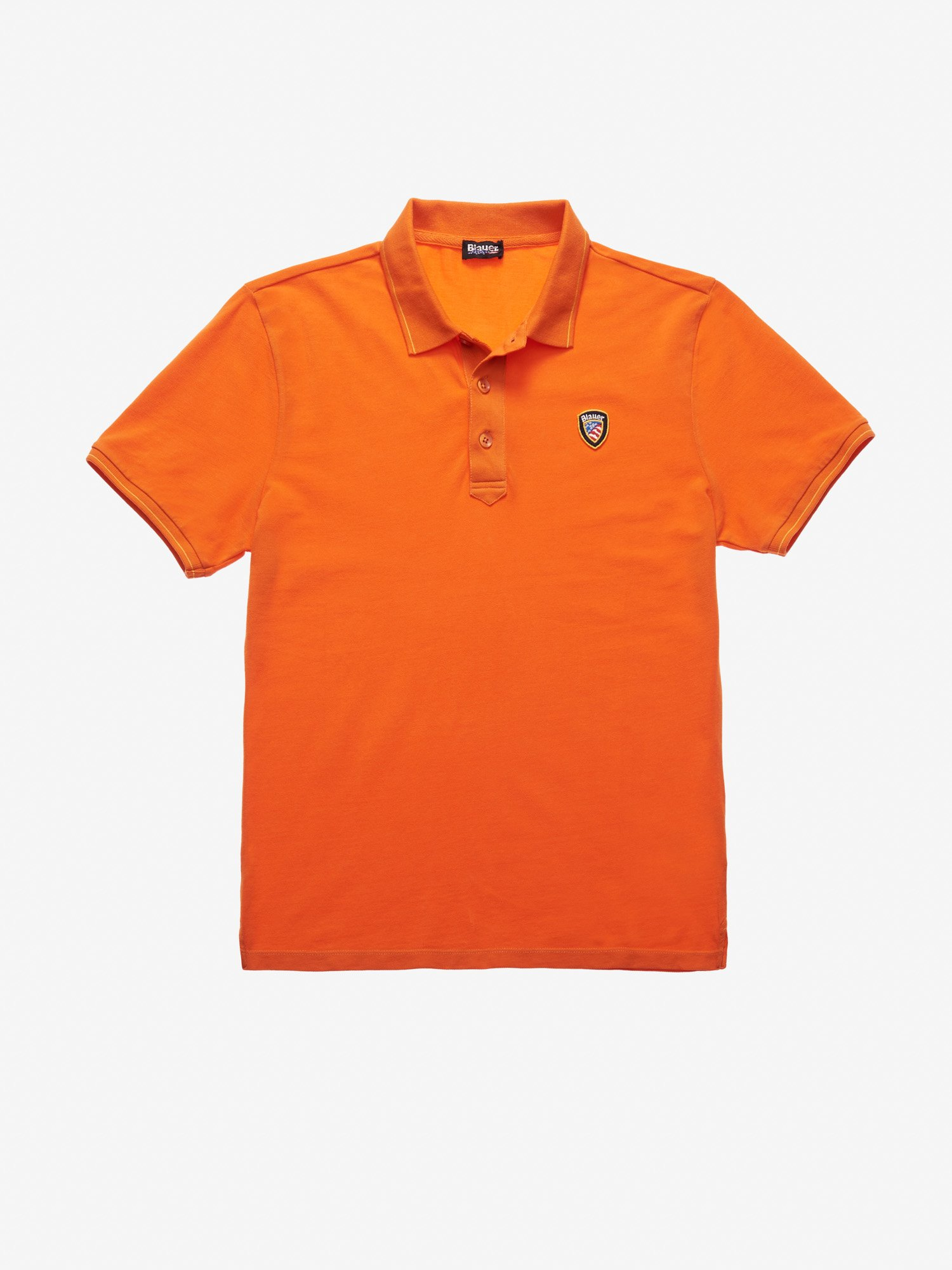 Blauer - LEICHTES PIQUE-POLOSHIRT - Orange Carrot - Blauer
