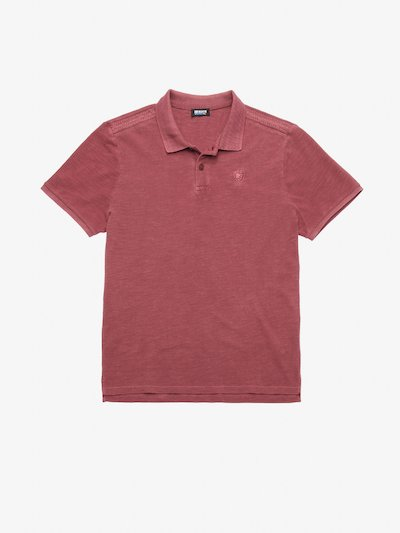SLUB COTTON POLO SHIRT