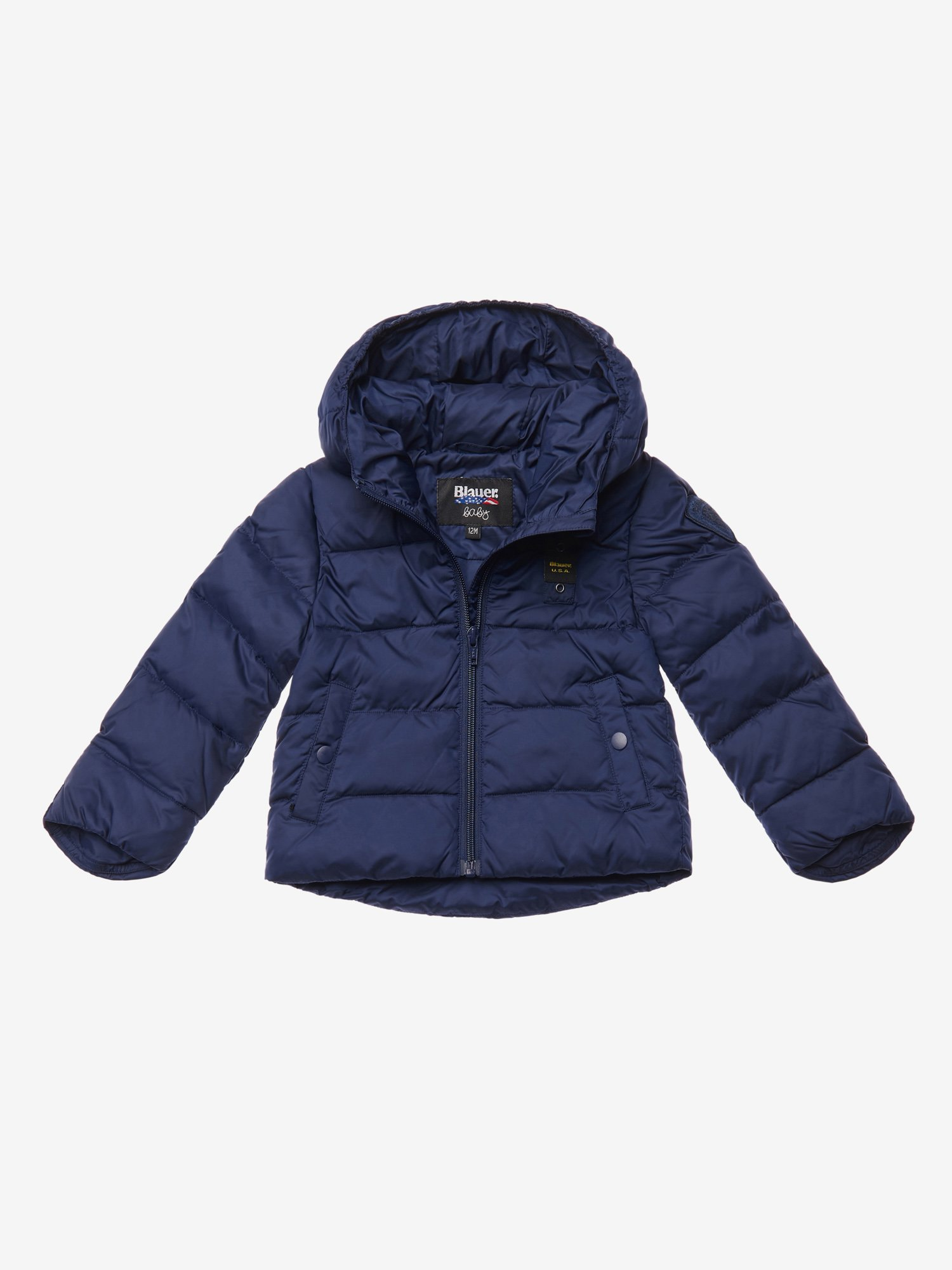 NICHOLSON BABY DOWN JACKET WITH HOOD - Blauer