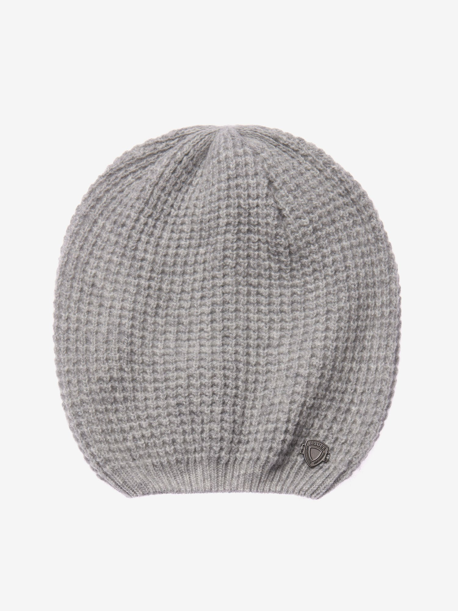 CROCHET KNIT STITCH BEANIE - Blauer