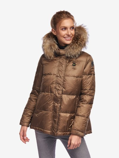 HUNT FLARED DOWN JACKET