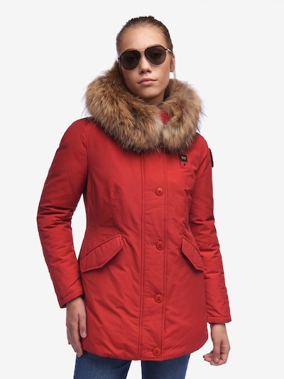RUSSEL PARKA IN LIGHT TASLAN